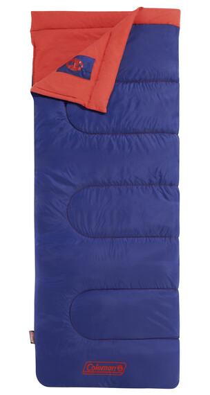 Coleman slaapzak Heaton Peak Slaapzak Kinderen rood/blauw